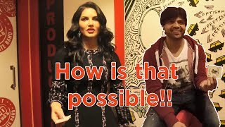 Magic with Sunny Leone,Abhay Deol & Himesh | Vivek Magic