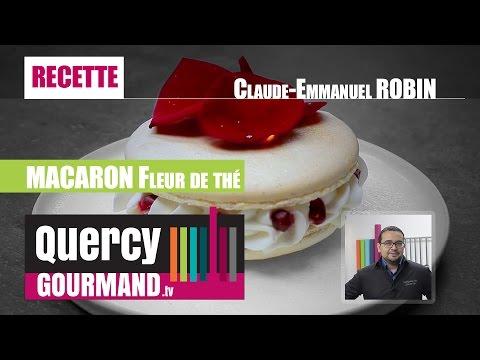 Recette : MACARON Fleur de thé – quercygourmand.tv