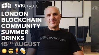 London Blockchain Community Summer Drinks Invitation