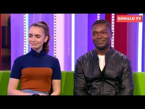 BBC The One Show 6/12/2018  Lily Collins and David Oyelowo