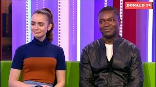 BBC The One Show 6122018  Lily Collins and David Oyelowo