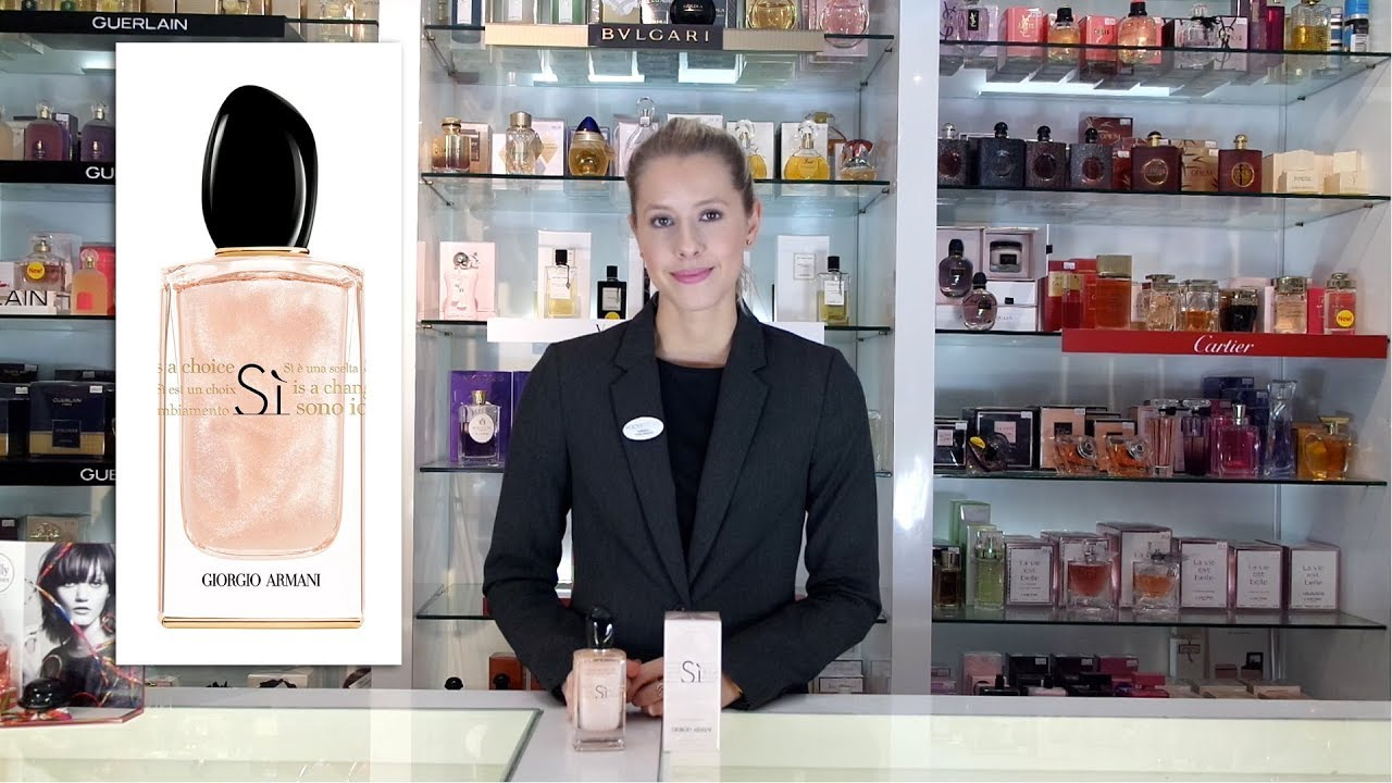 Giorgio Armani Si Nacre Edition Eau De Parfum Youtube