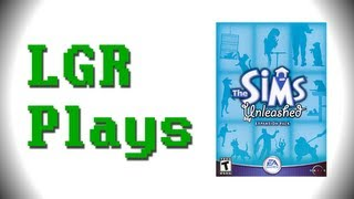 LGR Plays - The Sims Unleashed