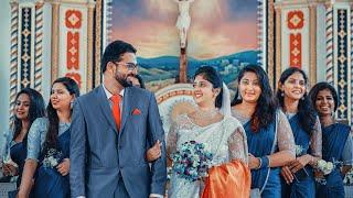 JOSE BABU & ANU THOMAS WEDDING HIGHLIGHTS   Team Mahadevan Thampi