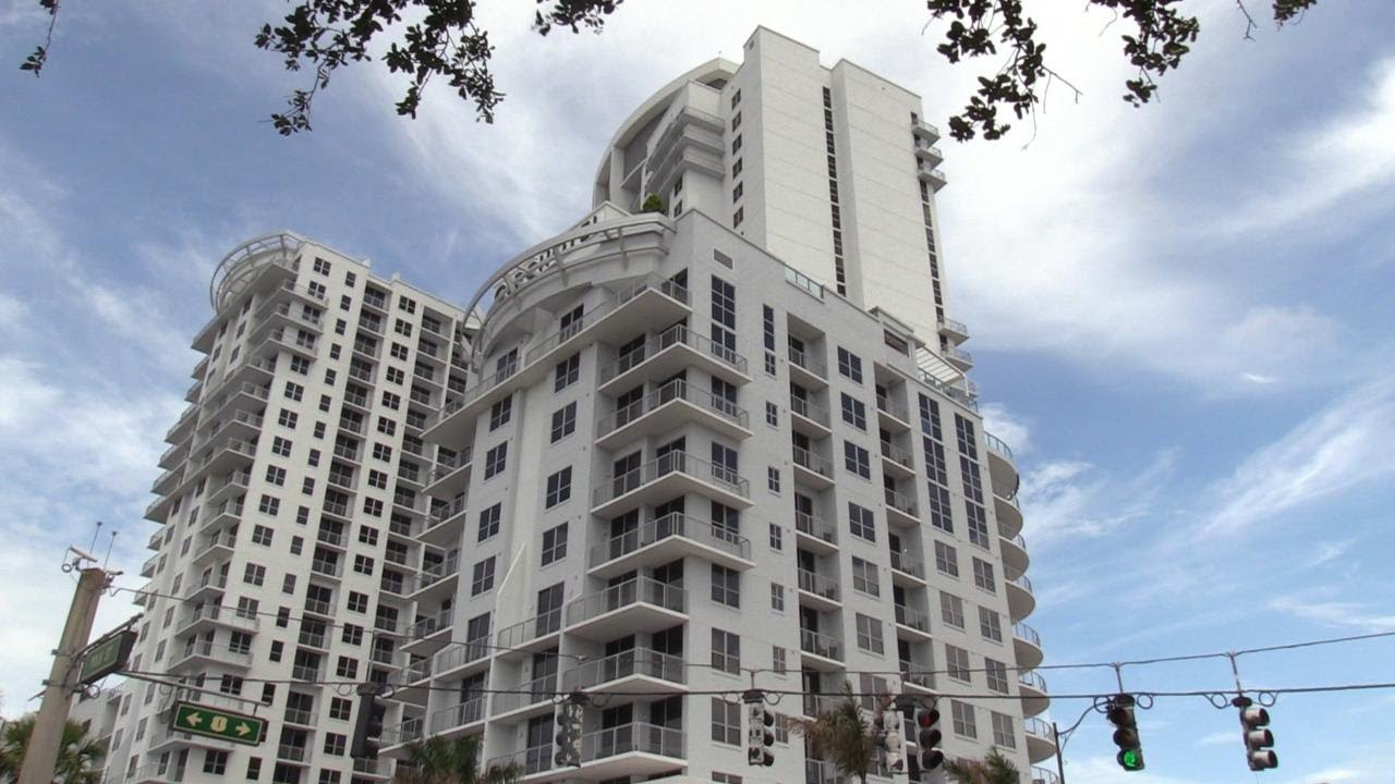 The first hotel built in downtown Hollywood, Florida in 39 years
