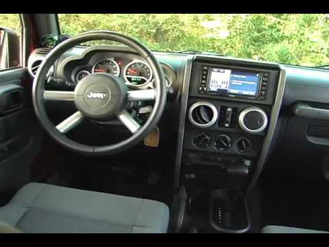 2009 Jeep Wrangler Unlimited 4x4 Review - YouTube