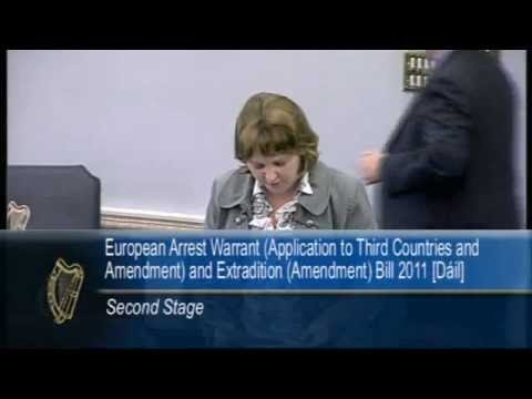 Senator Jillian van Turnhout - European Arrest Warrant (Third Countries and Extradition)