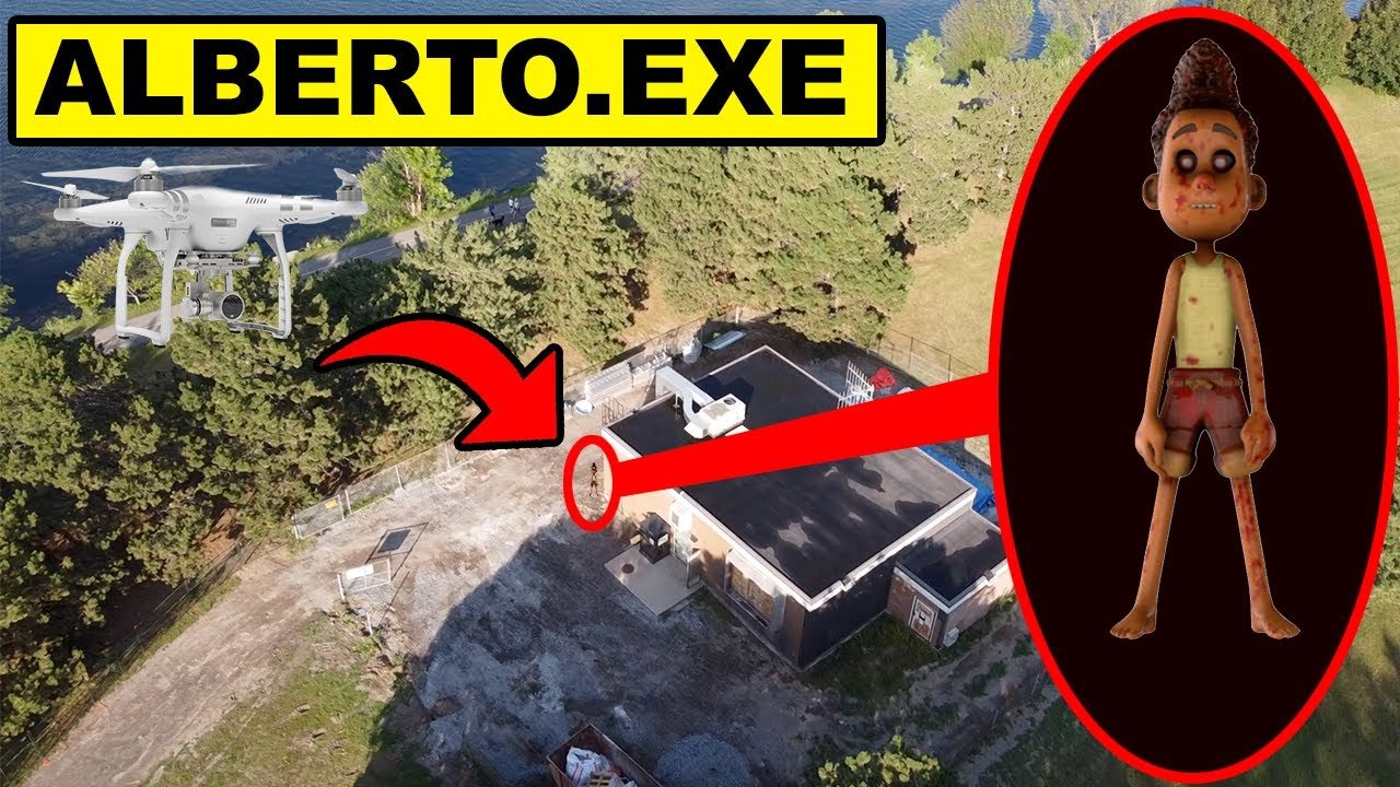 Download DRONE CATCHES CURSED ALBERTO FROM THE LUCA MOVIE AT ABANDONED HOUSE | ALBERTO.EXE CAUGHT ON DRONE!