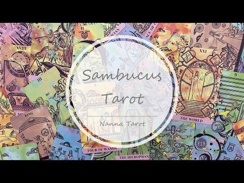 開箱  接骨木塔羅牌-玫瑰黎明 • Sambucus Tarot // Nanna Tarot