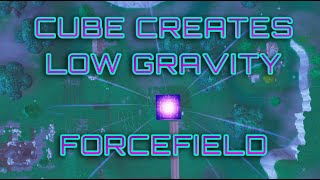 Cube Creates Low-Gravity Forcefield (Cinematic) (Live Event) - Fortnite Battle Royale