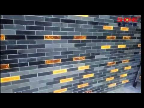 LED wall tile by Shone Lighting