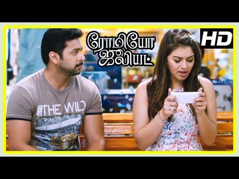 Romeo Juliet Movie Scenes   Jayam Ravi asks Hansika for second chance   Hansika troubles Jayam Ravi