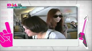 110824 Mnet.Idol Chart Show  (No.4 荷拉 (KARA ) 하라 Hara)