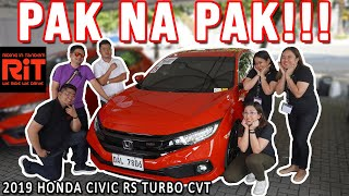 2019 Honda Civic RS Turbo CVT Review : Cars Philippines