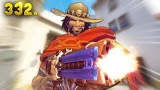 MOST INSANE MCCREE PLAY..!! | Overwatch Daily Moments Ep.332 (Funny and Random Moments)