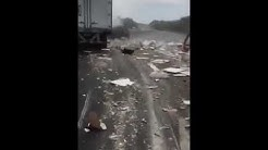 Bad Accident I-40 West bound near Dandridge TN. (Semi Truck Crash)