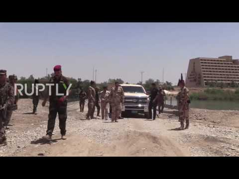 Iraq: West-Mosul offensive begins Iraqi army makes gains into IS territory