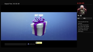 Fortnite: Save the World Player level 131 update 8.0 giftbox