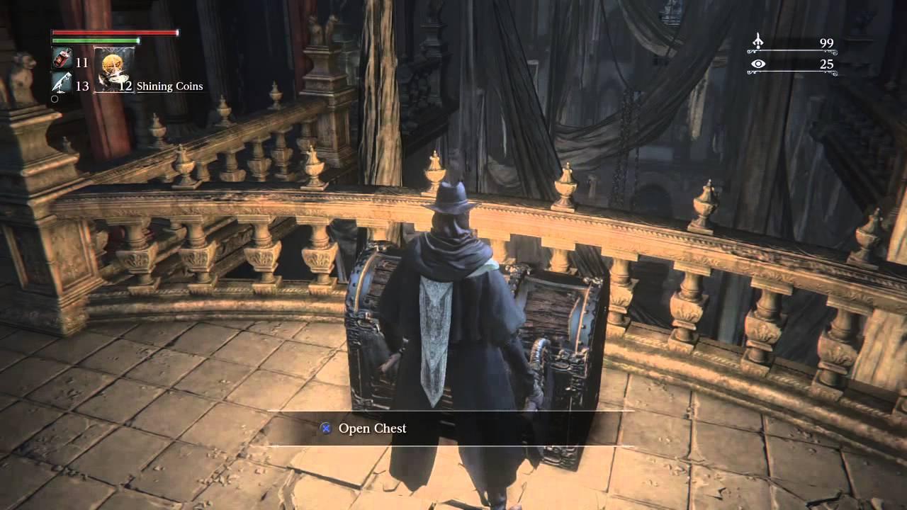 Bloodborne Cathedral Ward Locked Door Secret Elevator Path Rune And Messenger Hat Rare Item Ps4 Exc Youtube