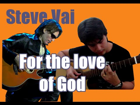 steve vai for the love of god vers o cover ac stico youtube. Black Bedroom Furniture Sets. Home Design Ideas