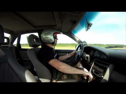 Audi urS4 Standing Mile 304 kmh / 190mph - SpeedParty 2012