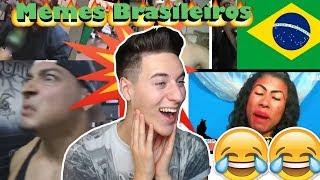 REAGINDO A MEMES BRASILEIROS South America Memes