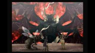 Shin Megami Tensei Devil Summoner 2: Raidou Kuzunoha vs King Abaddon Lucifer Fight