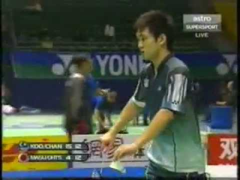 2005 Sudirman Cup - Koo Kien Keat and Chan Chong Ming vs Mat