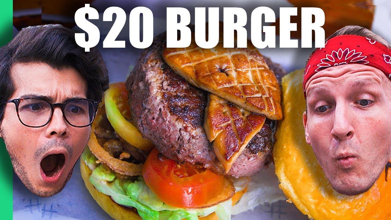 50 Burger Machine Vs 20 Burger In Manila Philippines W Erwan Heussaff