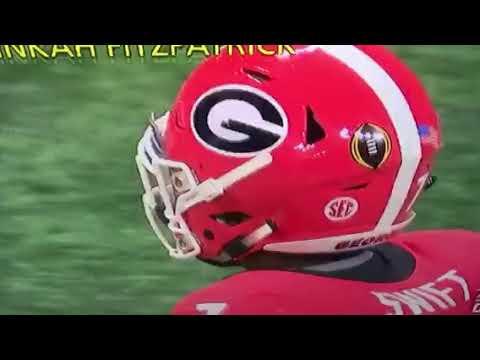 Bad Calls - Georgia VS Alabama  1-8-17 Championship Game