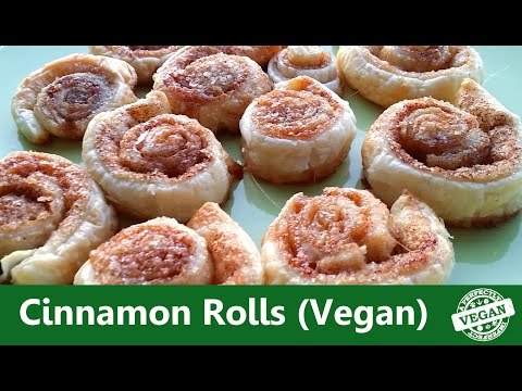 Easy Cinnamon Rolls Recipe | Vegan