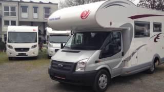 Купить автокемпер (дом на колесах, автодом) в Германии Ford Transit Eura Mobil 685, 2013 г.в.