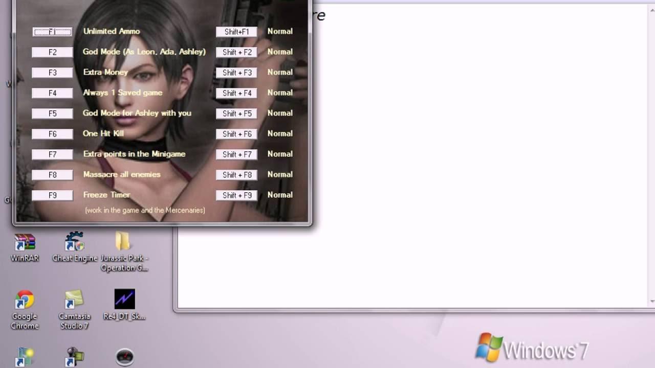 The Best trainer for Resident Evil 4 - YouTube