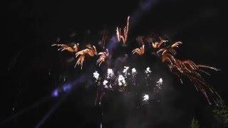 PRAHA-Slavnostní ohňostroj na Vltavě k ukončení osmé slavnosti NAVALIS
