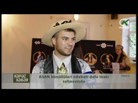 Gəncə ASAN Könüllüləri Növbəti Dəfə Teatr Səhnəsində  - Kəpəz TV
