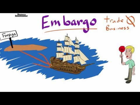 Embargo Definition for Kids
