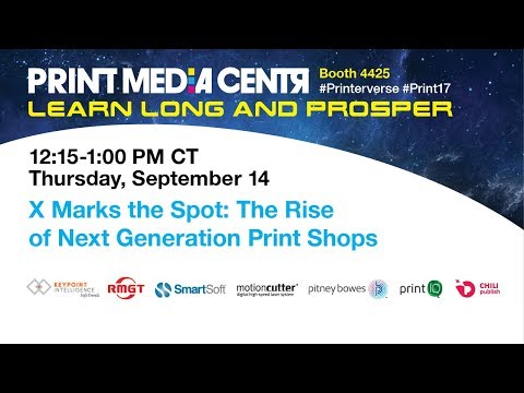 X Marks the Spot: The Rise of Next Generation Print Shops
