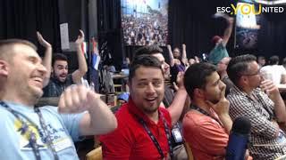 Eurovision 2019 Semi Final 1 Results Reaction (Team ESC United)