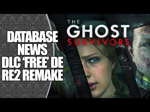 CAPCOM LANÇA DLCS GRATUITAS DE RESIDENT EVIL 2 REMAKE! | DATABASE NEWS