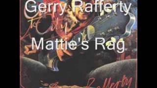 Watch Gerry Rafferty Matties Rag video