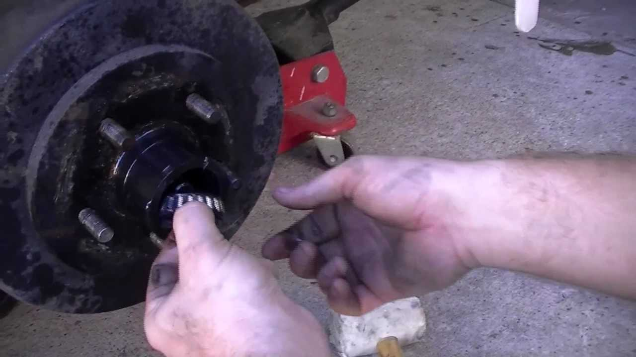 how to rebuild and bleed surge style trailer brakes part i [ 1280 x 720 Pixel ]