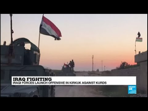 Iraq: Army forces retake airport, military base, oil field from Kurds in Kirkuk