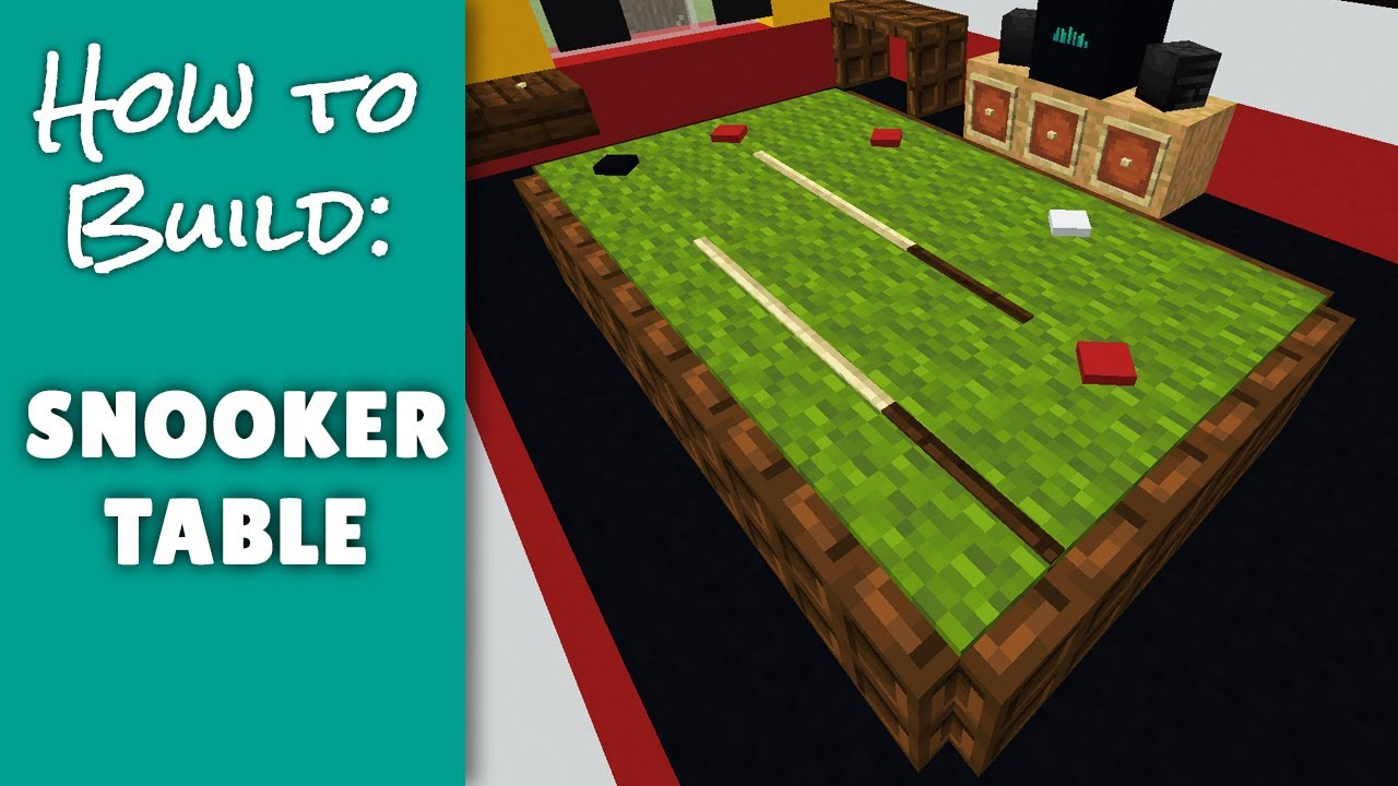 Snooker Table - Minecraft Furniture