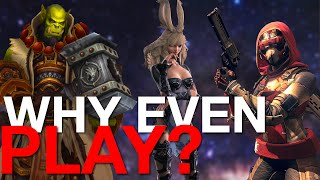 Is Playing worth it? | Why We Play FFXIV, Destiny 2, & WOW