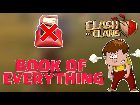 NO BOOK OF EVERYTHING IN CLASH OF CLANS, MARATHON CLAN GAMES