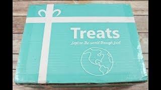 Treats Ireland 2017 International Treats Unboxing/Tasting + Coupon