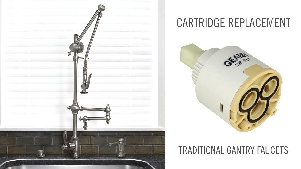 Cartridge Replacement on Traditional Waterstone Gantry Faucets ...