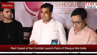 At the launch of Sheque Mrs. India International Beauty Pageant | Pt. Pawan Kaushik