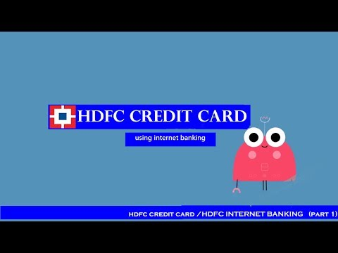How To Apply For Hdfc Credit Card Online Hdfc Internet Banking Part