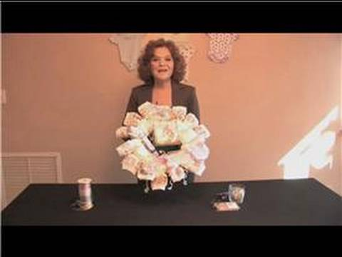 Baby Shower Craft Tips How To Make Diaper Wreath